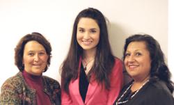SDI: From left, Sue Jiron, Patrice Vigil, Joanna Salinas.
