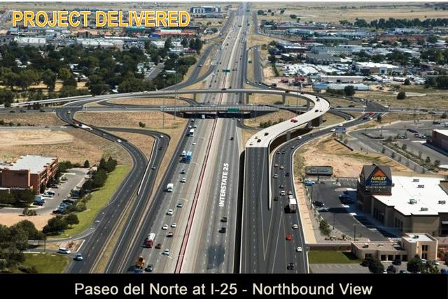caption:Paseo/I-25 Interchange Project