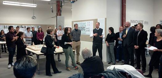 caption:CityLab student project open house