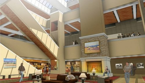 Convention Center Inside - Proposed