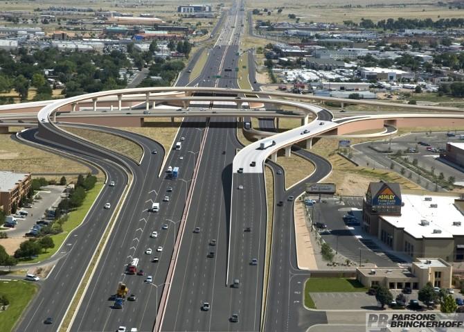 Paseo del Norte & I-25 Interchange
