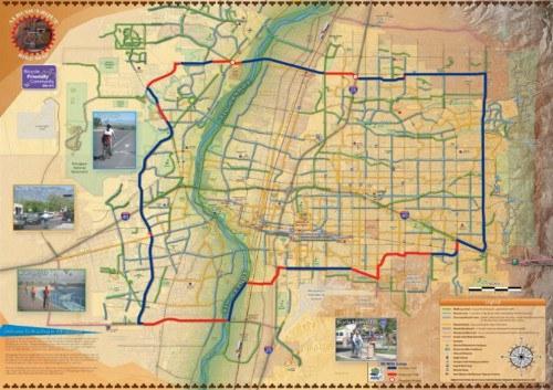 50-Mile Multi-Use Loop Map
