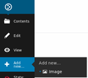 Plone 5: Select Image from Add New
