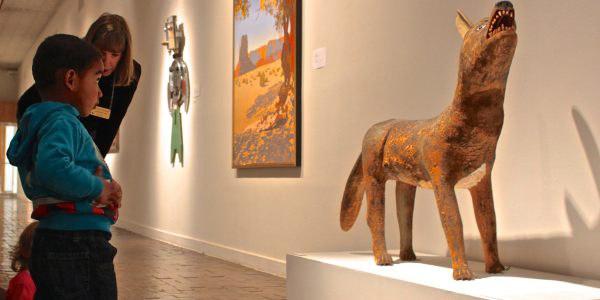Child at the Albuquerque Museum