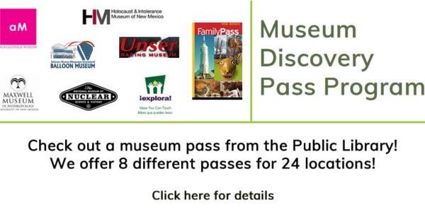 Image of Museum Discovery Pass Program Logo.
