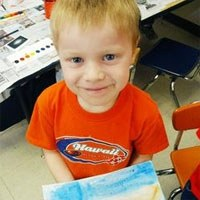 Child with Watercolor from APS website