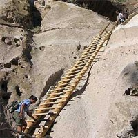 Ladder at Bandelier